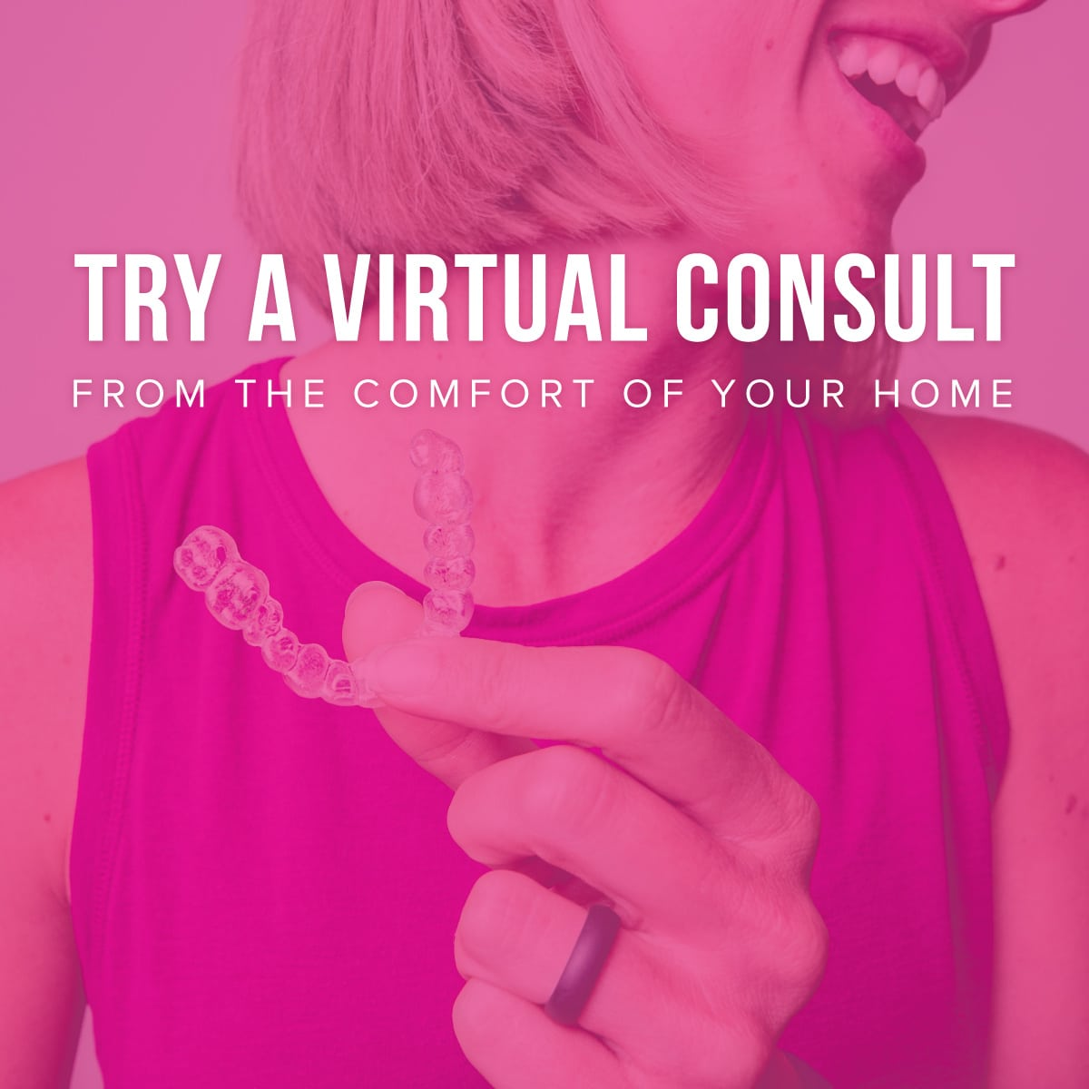 VC Promo 4 - Find out if Braces or Invisalign are right for you– without coming in to the office!